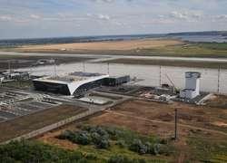 Ход строительства аэропорта «Гагарин» вСабуровке Саратовской области