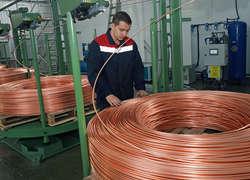 ВКалининградской области заработал завод «Балткат» попроизводству медной катанки