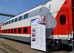 Тверской вагоностроительный завод представил новые двухэтажные вагоны