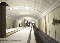 Строительство станции метро «Дубравная» вКазани