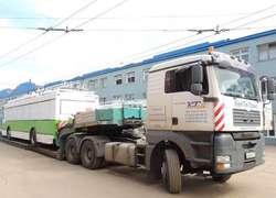 Завод «Тролза» отправил вАргентину первую партию троллейбусов
