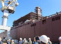 Строительство первой вмире плавучей АЭС икрупнейшего ледокола вошло врешающую стадию