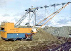 ЭкскаваторЭШ 20-90 синновационной системой электропривода начал работу наразрезе «Красногорский»