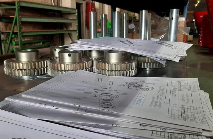 Чертежи и детали для монтажа новой AVR CR450M