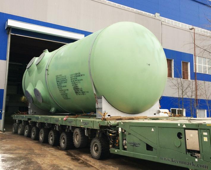 Ижорские заводы начали отгрузку основной части оборудования для болгарской АЭС «Белене»