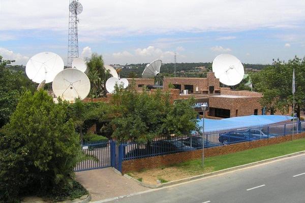 Телепорт Telemedia близ Йоханнесбурга