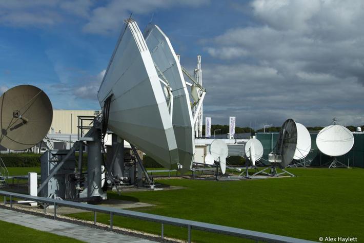 Телепорт Globecomm в Вiddinghuizen (Нидерланды)