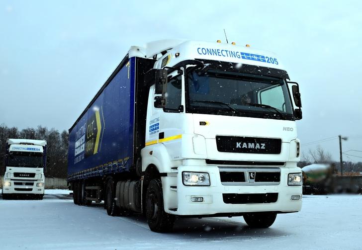 Тягачи КАМАЗ-5490 NEO поставлены в адрес Управляющей транспортной компании «Мегаполис»