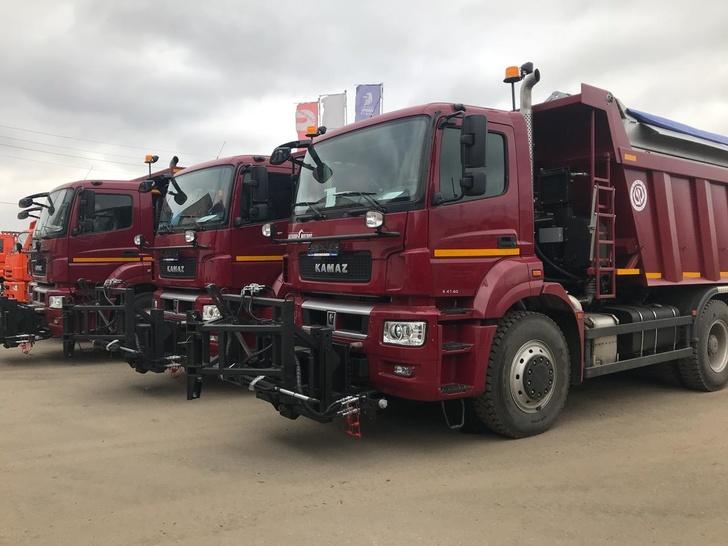 КАМАЗ поставил в лизинг автотехнику для Владимирской области