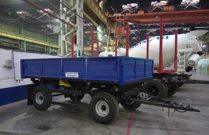 На Туймазинском заводе автобетоновозов освоили выпуск новой продукции