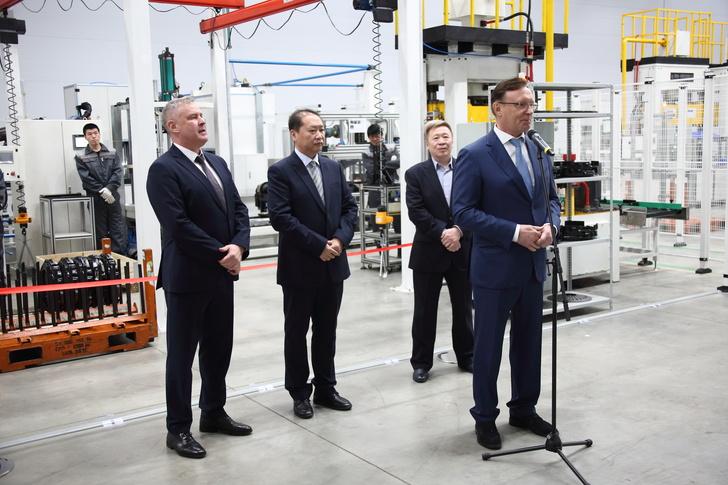 На «КАМАЗе» запущена новая производственная линия по производству сцеплений