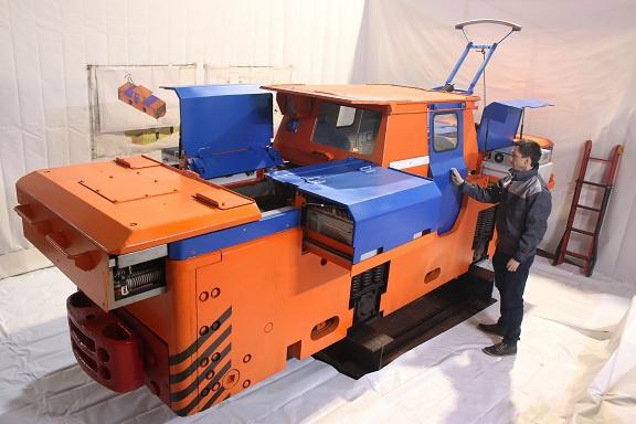 Модернизация шахтного электровоза К-14МА в К-17М для ГМК «Норильский Никель»