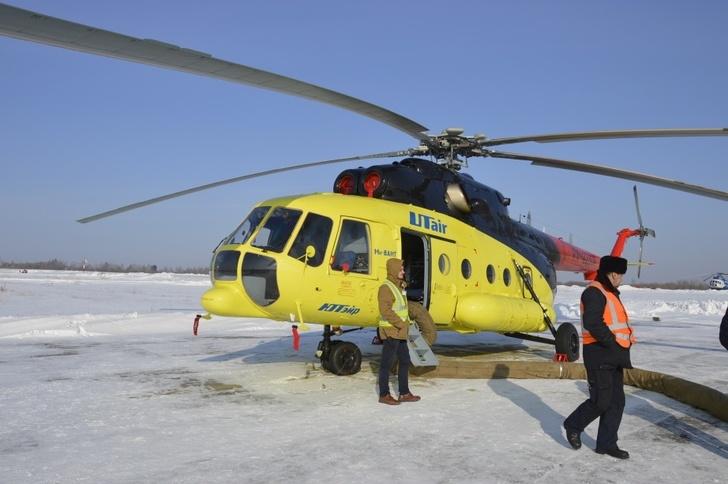 Новый вертолёт Ми-8 заступил на дежурство центра медицины катастроф Хабаровского края