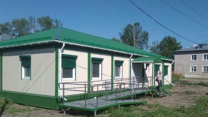 В деревне Зимник Кильмезского района появился новый ФАП