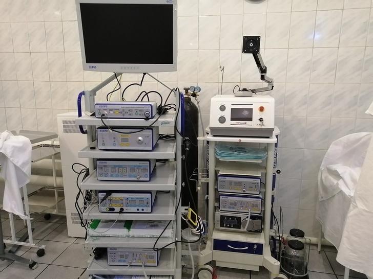 Первое аналогичное медоборудование в больнице города Киржач Владимирской области