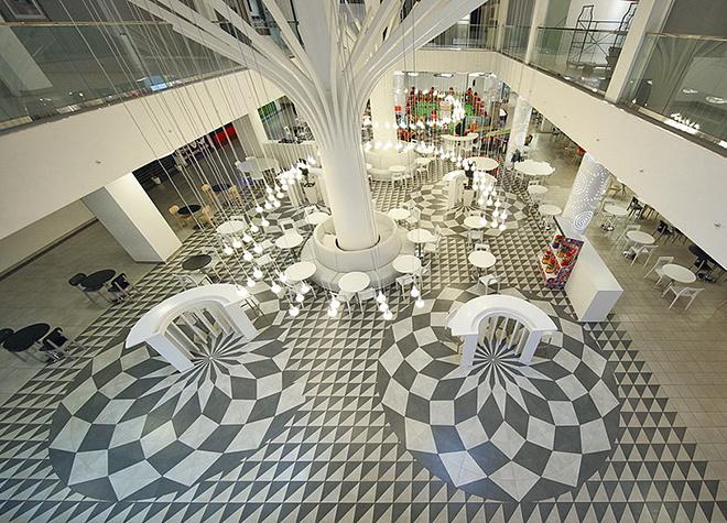 Пример продукции компании Керама Марацци - керамическое напольное покрытие (фото kerama-marazzi.com)