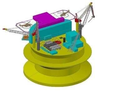 Спроектирован новый объект для арктического шельфа