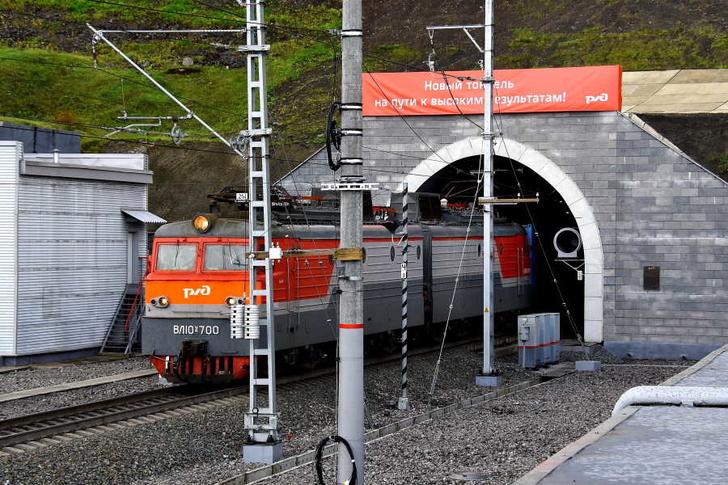 Новый железнодорожный тоннель запущен в постоянную эксплуатацию в Кемеровской области