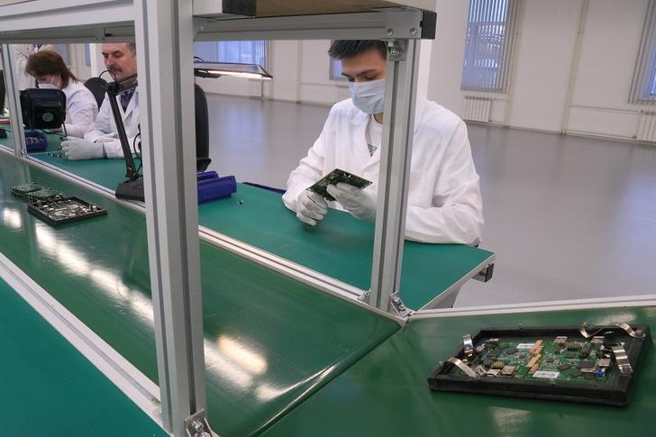 В Новосибирске запущен цех по производству телекоммуникационного оборудования завода «Элтекс»