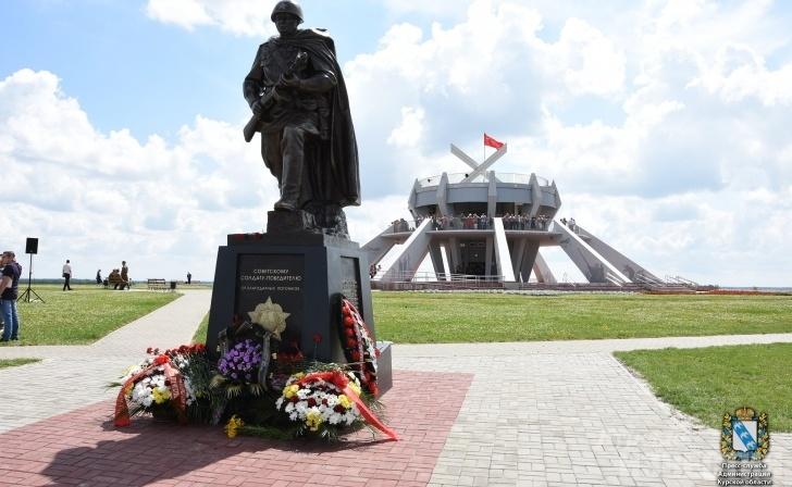 В Курской области открыт памятник советскому Солдату-Победителю