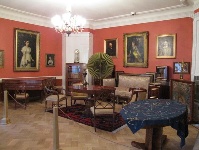 10 октября состоялось открытие главного усадебного дома музея Абрамцево