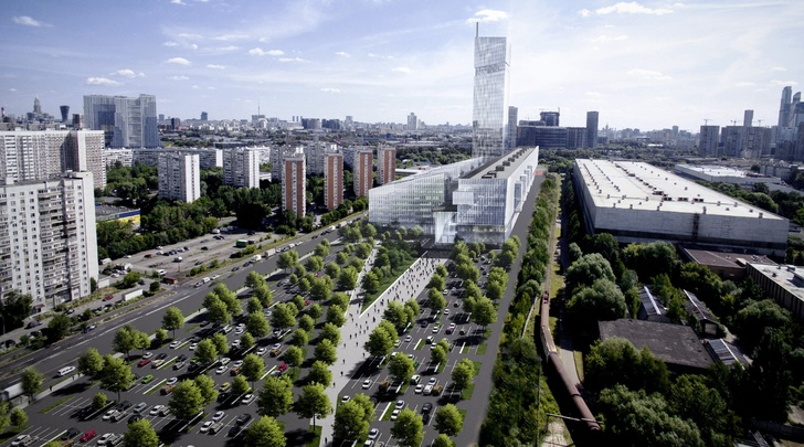 Определен облик Национального космического центра по проекту российского архбюро UNK project