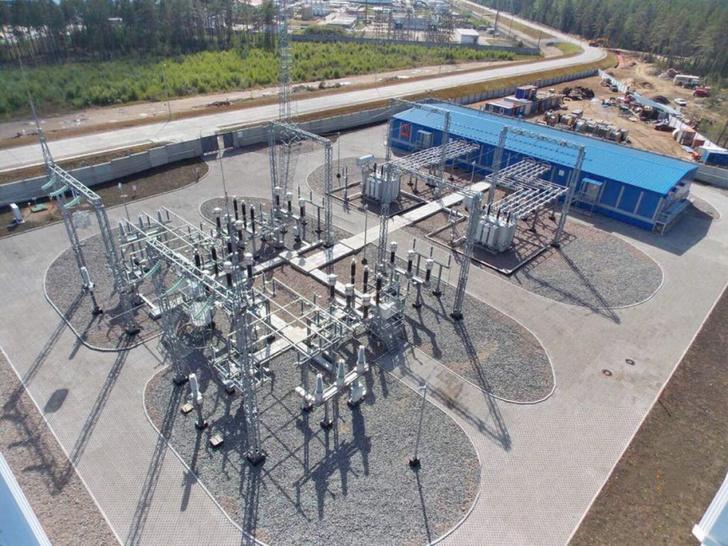 Подстанция для завода по производству СПГ в Высоцке запущена в Ленинградской области