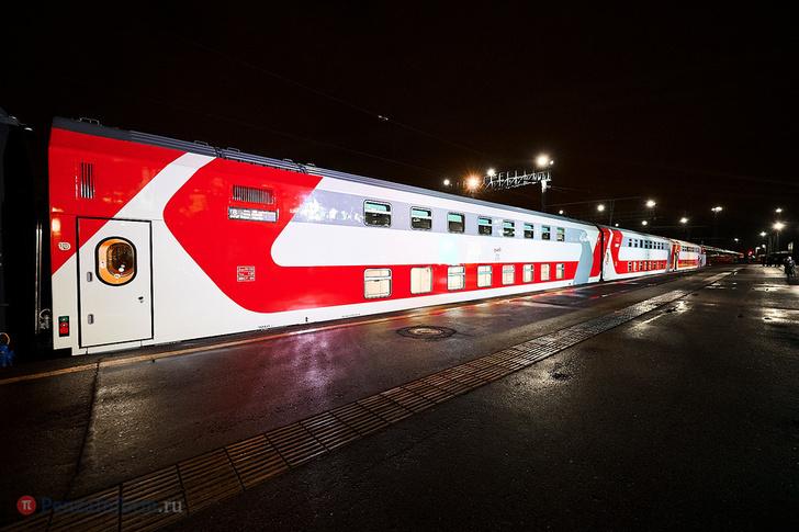 Запущен новый двухэтажный фирменный поезд «Сура» сообщением «Пенза - Москва»