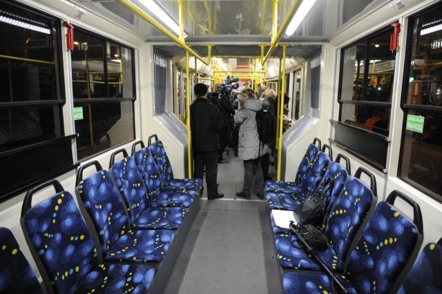 трамвай выходит 1 декабря.