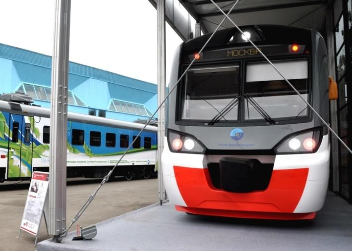 Электропоезд ЭП2Тв разработки Тверского вагоностроительного завода