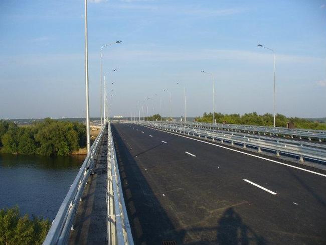 В Жуковском втихаря мост через
