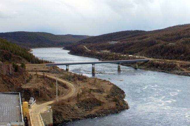2010.10.25 Мост через реку Вилюй (Чернышевский) - 333м
