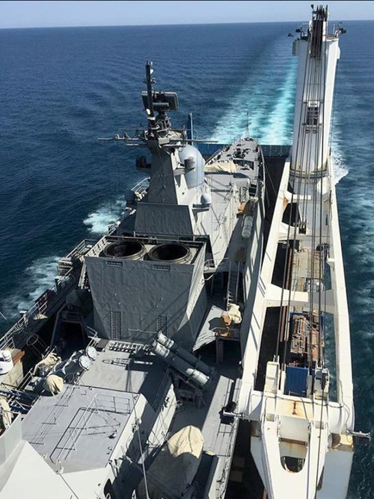 Chiến hạm Gepard thứ tư của Việt Nam về đến Singapore - ảnh 2