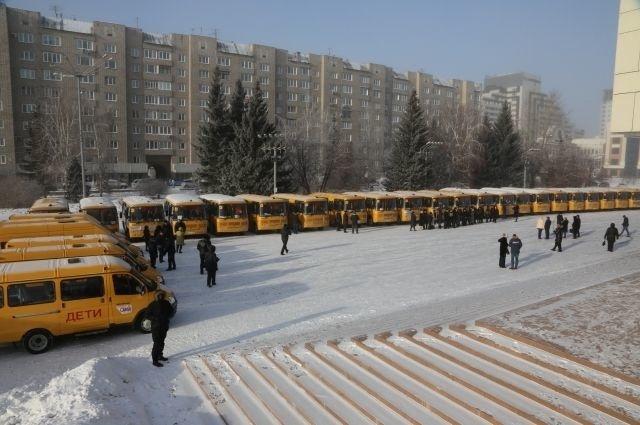 Автобусы приобретены за счёт федерального бюджета.