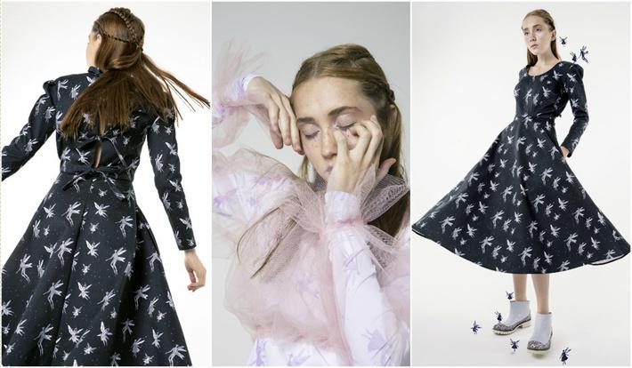 Каждая коллекция Леси Парамоновой — вселенная, сказка, которую дизайнер  рассказывает через свои удивительные вещи. Текущая коллекция бренда  посвящена эльфам ... 27819049e35