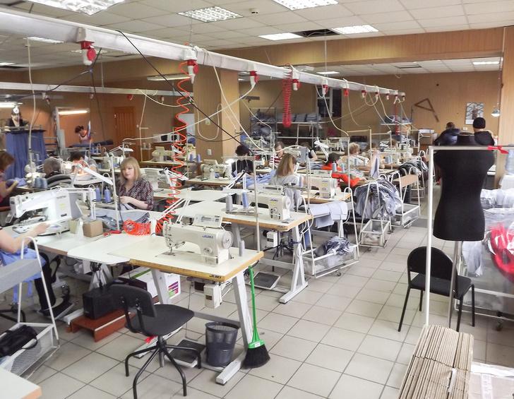 первая очередь швейной фабрики в Вольске