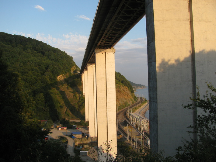 Мост в Зубовой щели