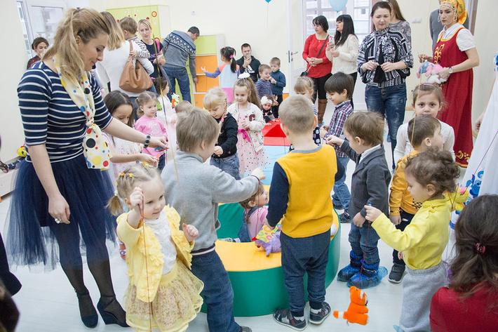 Открытие ДОУ №17 в Путилково