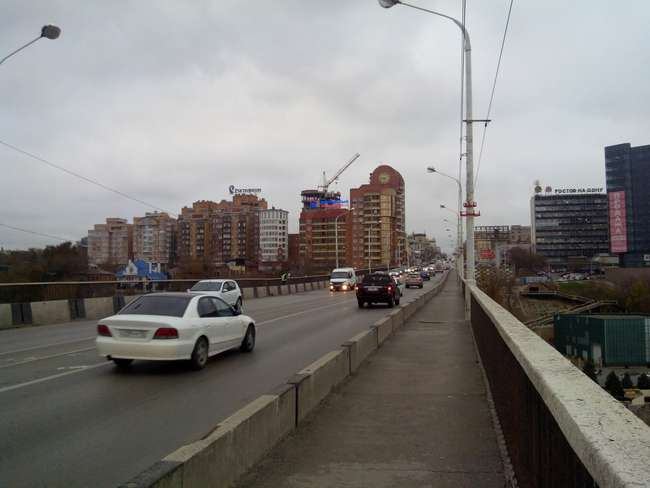 Старый мост - проседание пролета