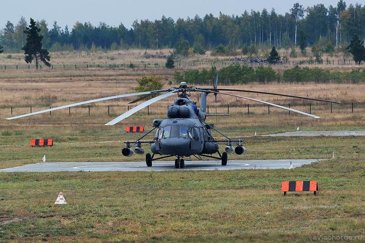 Миль Ми-8МТВ-5 (RF-91183 / 80 желтый) ВКС России 0327_D806017