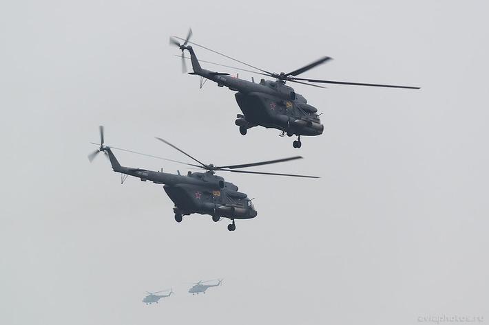 Миль Ми-8МТВ-5 (RF-91184 / 84 желтый) ВКС России 0498_D806173