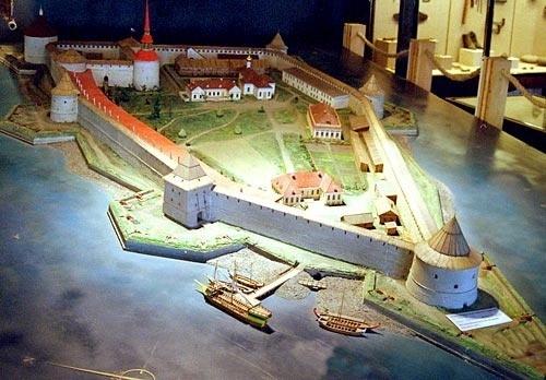 Как сделать петропавловскую крепость