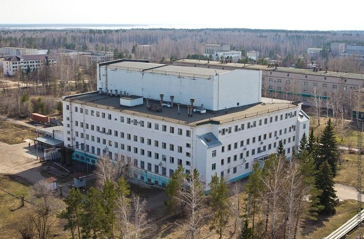 Реакторный корпус в НИИАР