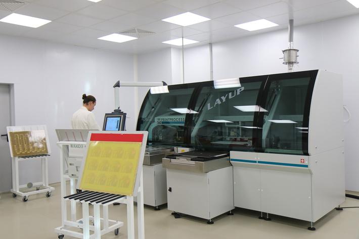 Установка сборки слоёв печатной платы