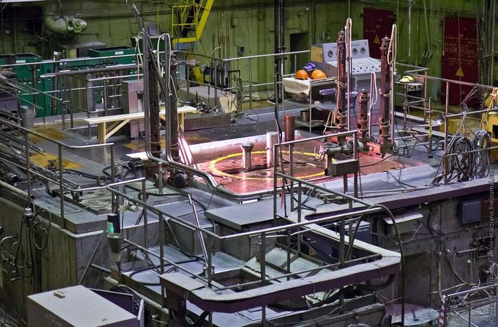 Реактор СМ-3 в НИИАР
