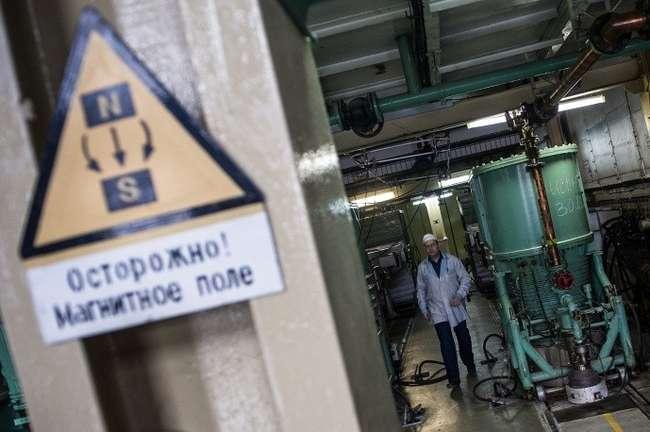 Сепараторная установка СУ-20. Цех производства изотопов © ИТАР-ТАСС/Донат Сорокин