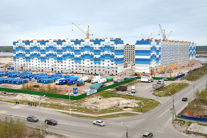 В надыме началось строительство многофункционального центра по предоставлению государственных и