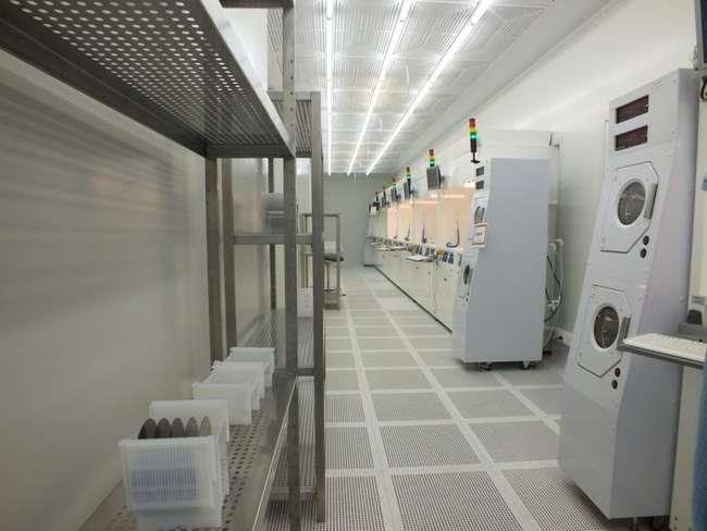 Оборудование фирмы SCR (Чехия) участка химического травления кремниевых пластин