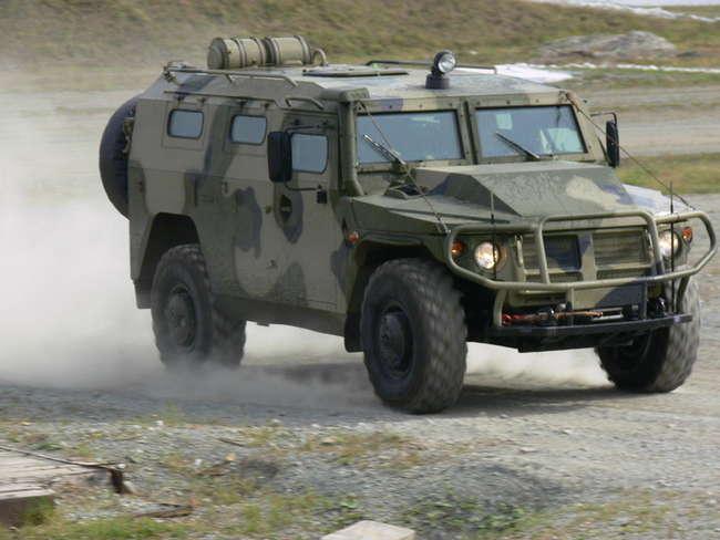 """АМН 233114 """"Тигр-М"""" - армейский бронеавтомобиль многоцелевого назначения с дизельным двигателем ЯМЗ-5347-10"""