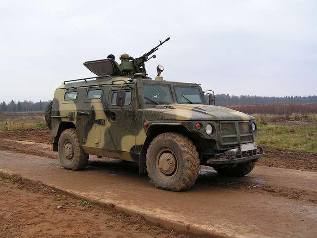 СТС ГАЗ-233014 - специальное транспортное средство, армейский бронированный многоцелевой автомобиль